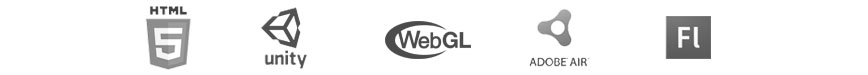 Digital Media for the Web - HTML5 Unity WebGL Flash